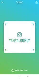 Cara atau Cara Gampang Pindai Nametage atau Tag Label Nama di Instagram. 3