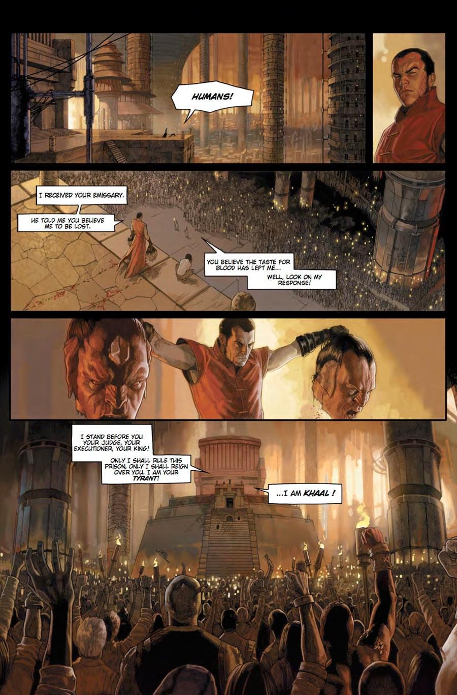 Images: Titan Comics Khaal #1 Preview