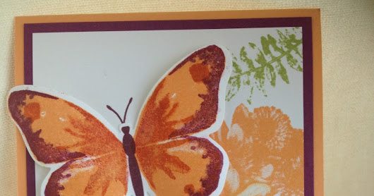 Butterfly Basics and Watercolour Wings