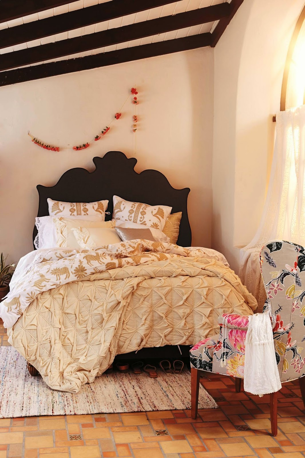 Anthropologie Bedroom: Effortlessly With Roxy: Eye Candy: Anthropologie May 2014