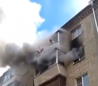 This Russian Man Threw His Family Out the Window of A Five Story Building and Was Called a Hero For Doing So!