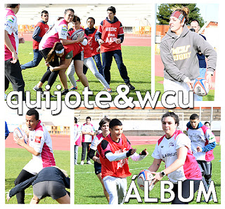 FOTOS Rugby Aranjuez West Chester University