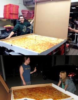 Wow Pizza Raksasa Ini Bisa Untuk Porsi 70 Orang