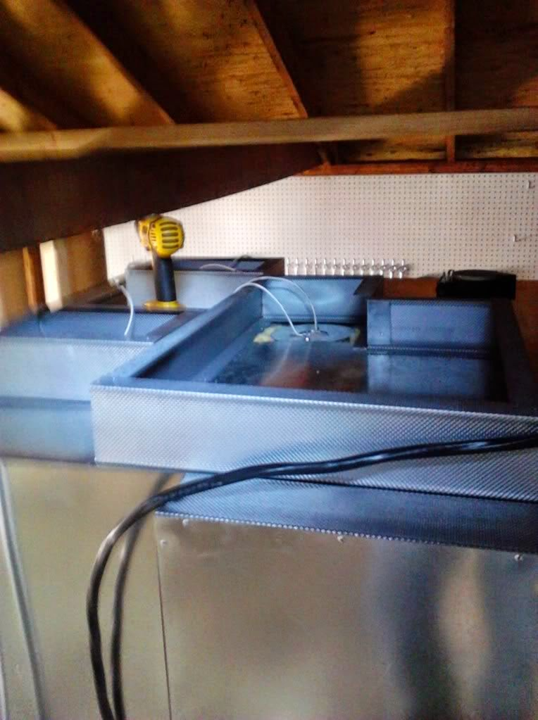 powder coating oven top