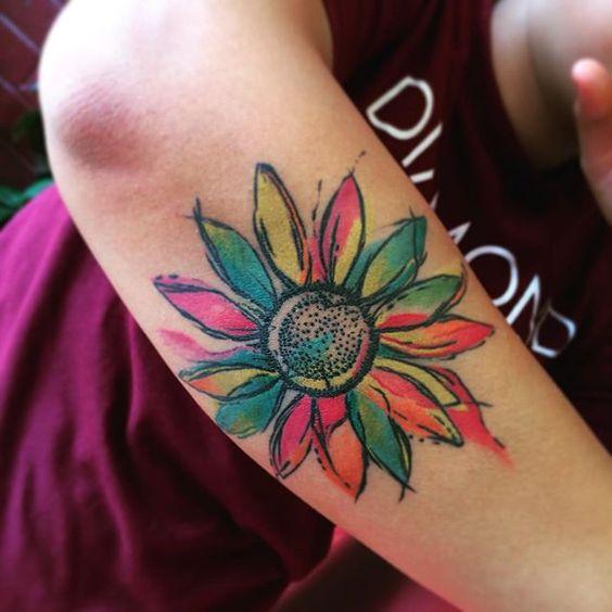 Mytattooland Com Daisy Tattoos