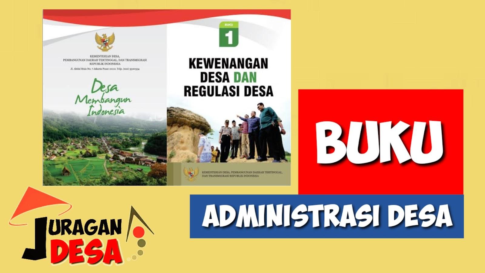 Berdasarkan Peraturan Menteri Dalam Negeri Nomor  Format Lengkap Buku Administrasi Desa Terbaru