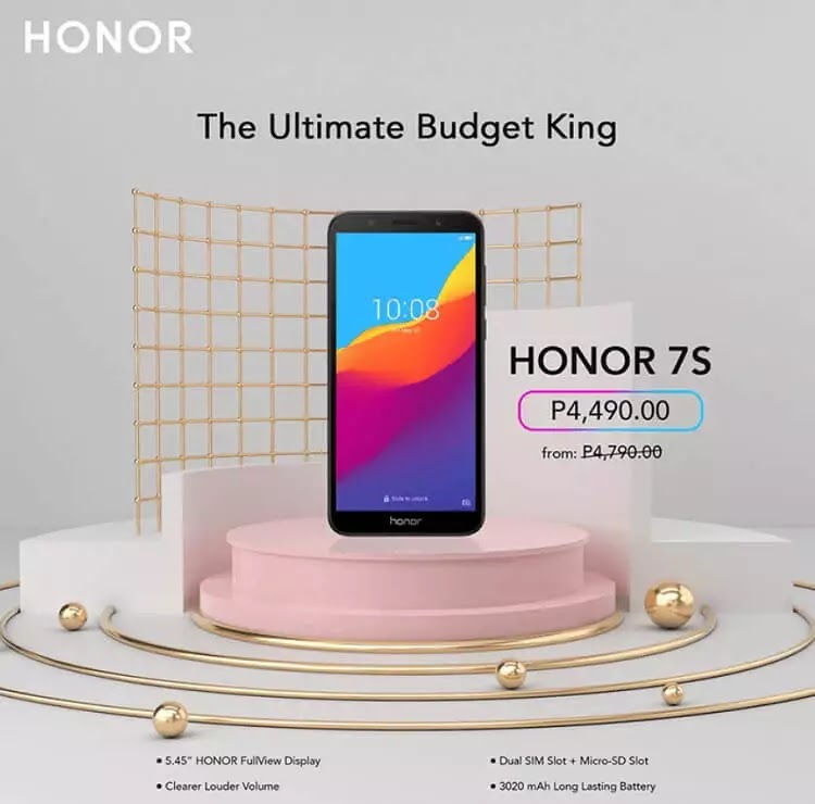 Honor 7S Price Drop Announced