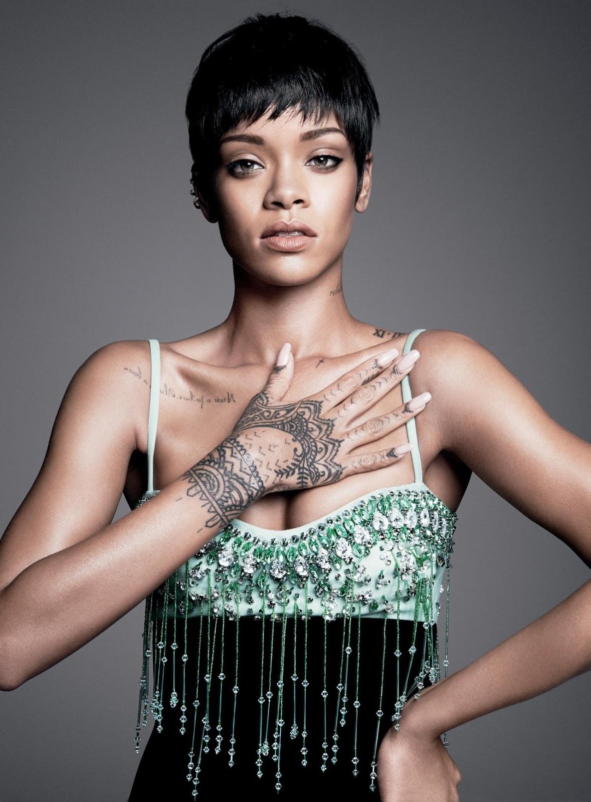 Awesome Rihanna Tattoos Designs