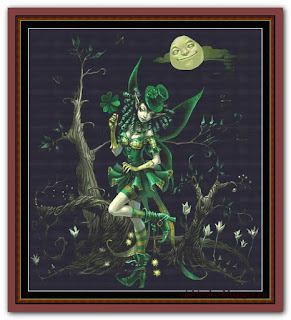 """Clover Fairy"" Witchykitt Designs"