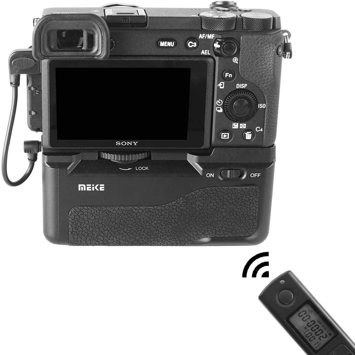 Камера Sony A6600 с батарейным блоком Meike MK-A6600 Pro и пультом