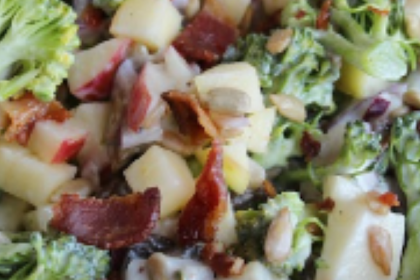 Honeycrisp Apple & Broccoli Salad