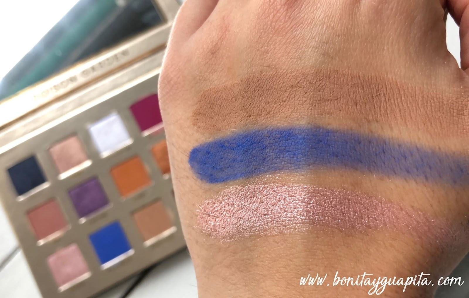 swatches poison garden nabla
