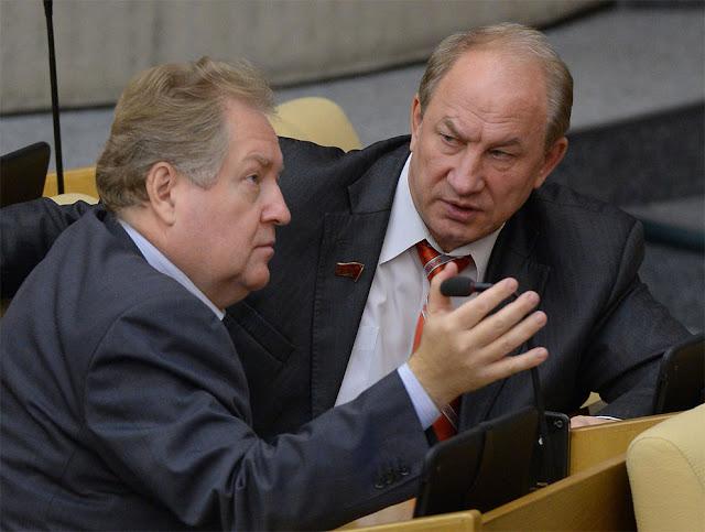 Сергей Обухов и Валерий Рашкин