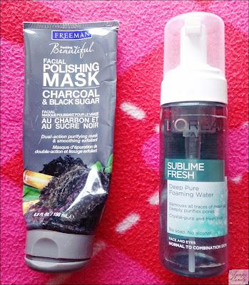 Freeman maska za lice crni ugalj, Loreal pena za ciscenje