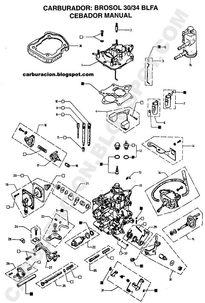 Manual Carburador Datsun