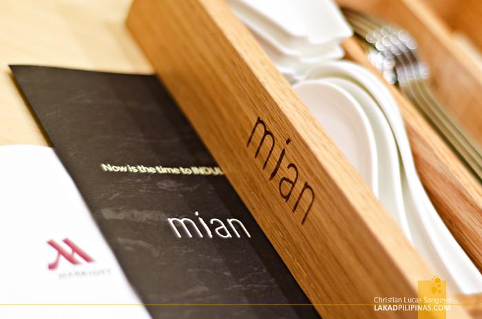 Mian Manila Marriott Restaurant