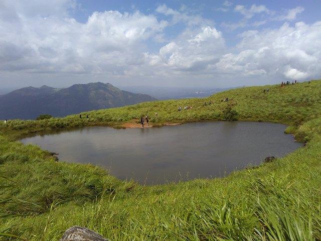 Chembra Peak Trekking - The heart shaped pool