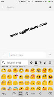 cara mengubah emoji di hp xiaomi menjadi emoji iphone/IOS tanpa root