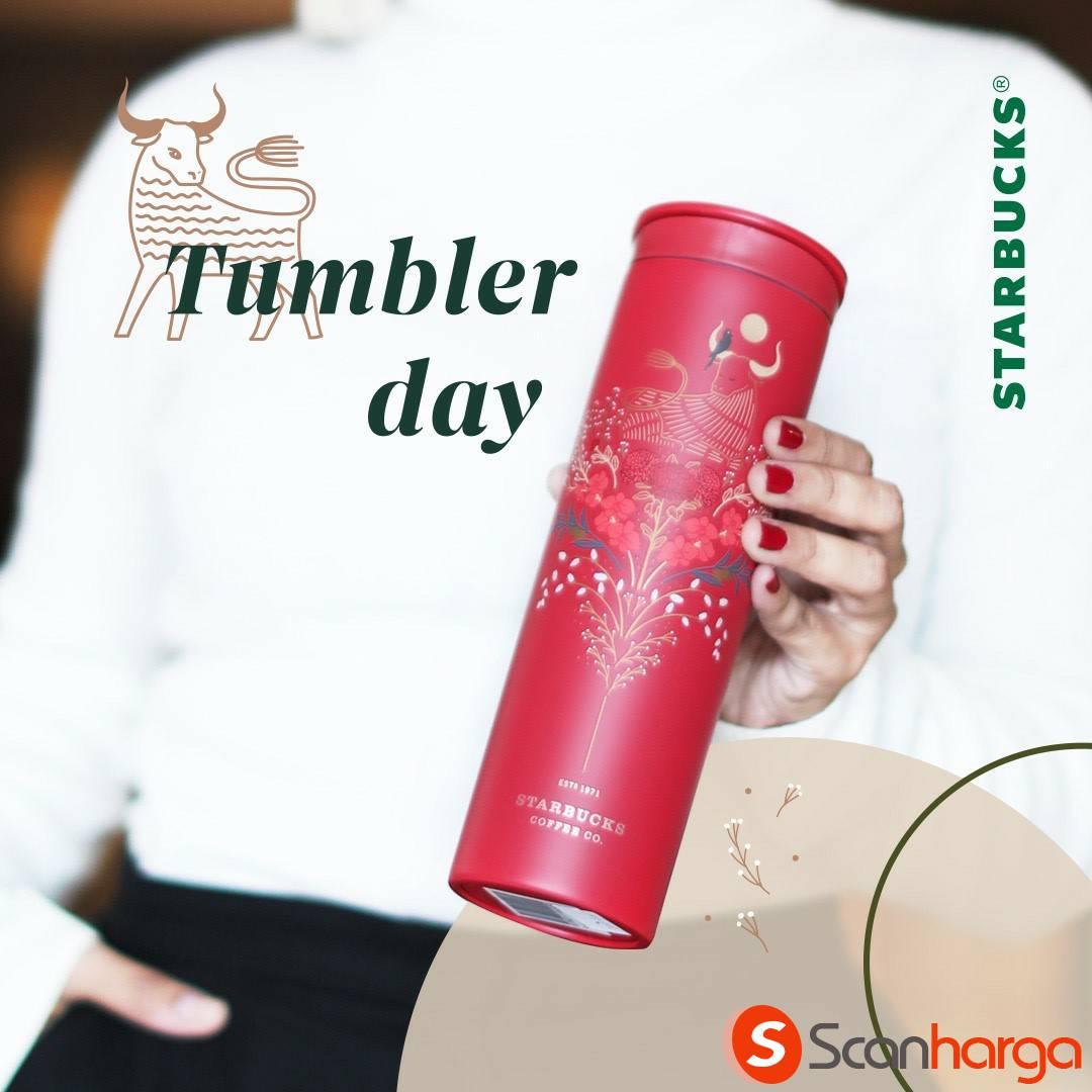 Promo STARBUCKS TUMBLER DAY
