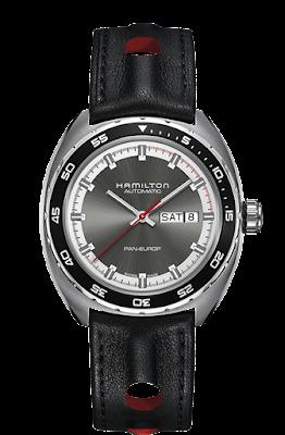 Hamilton Pan Europ Grey dial