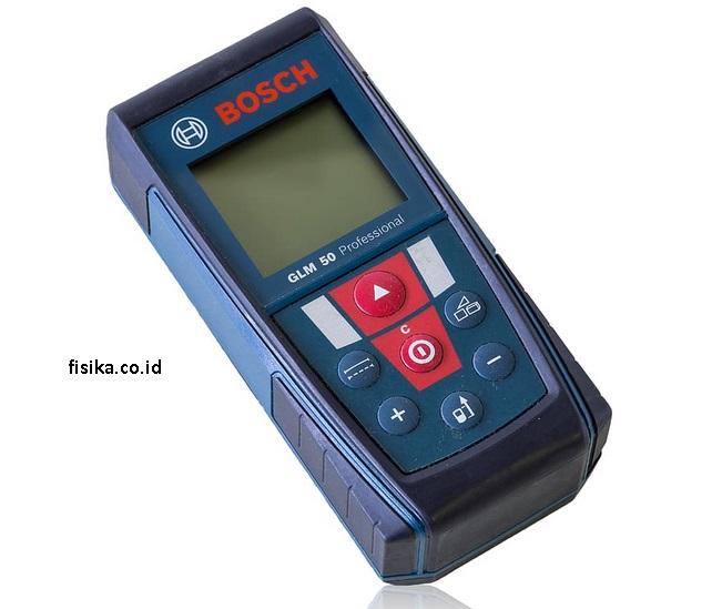 meteran digital alat ukur besaran panjang