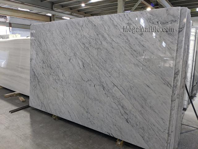 Carrara White Marble Slab