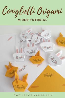 Scopri come realizzare dei coniglietti fai da te -  video tutorial