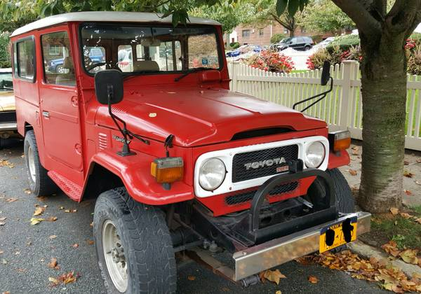 Rare Toyota Land Cruiser BJ44