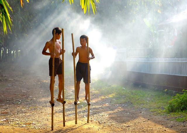 Main Tongkah, Permainan Tradisional Melayu