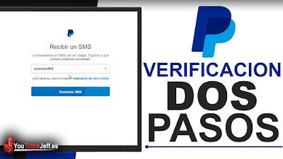 como activar verificación en dos pasos de paypal