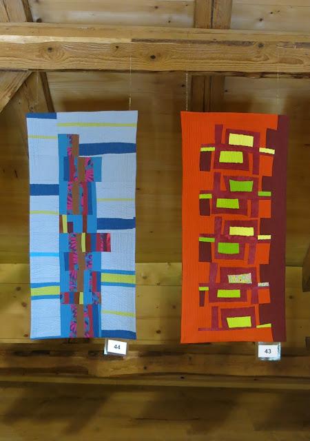 Neuchâtel Patchwork exhibition - Liliane Luginbuhl quilts