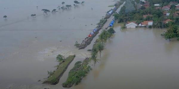 Penampakan Bajir Karawang Saat Doni Monardo Pantau Via Helikopter