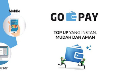 Cara Mengisi Saldo Go Pay GoJek - Top Up Gopay