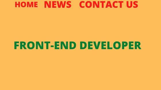 Front-End developer Jobs