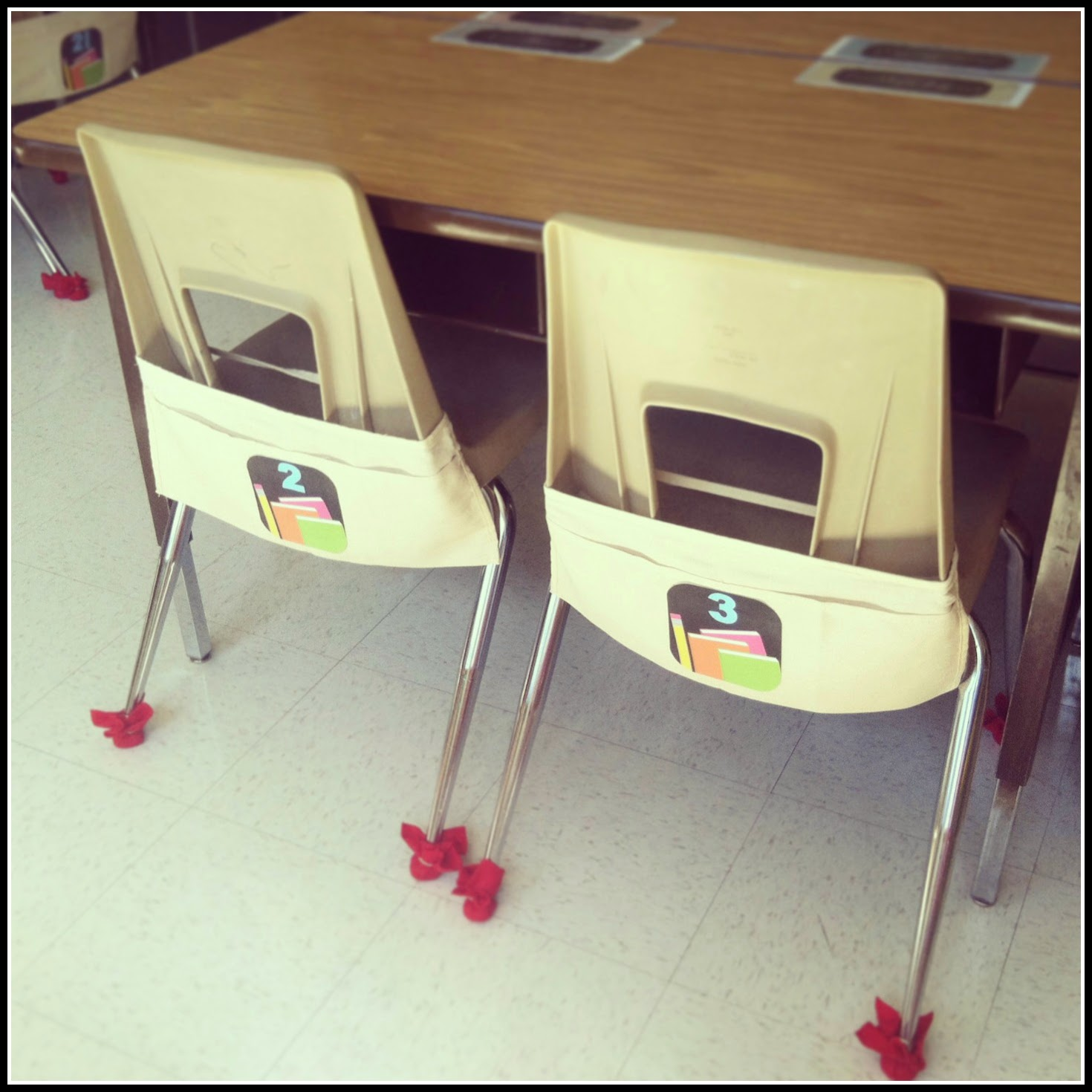 Chair Pockets For Classrooms Teaching With A Mountain View Peek Of The Week A Peek