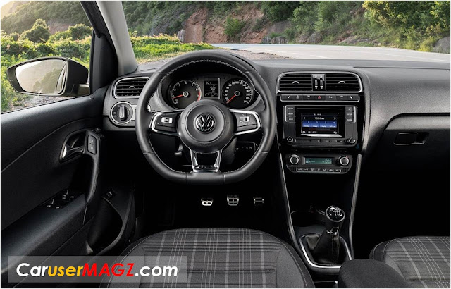 Interior VW Polo GT Sedan