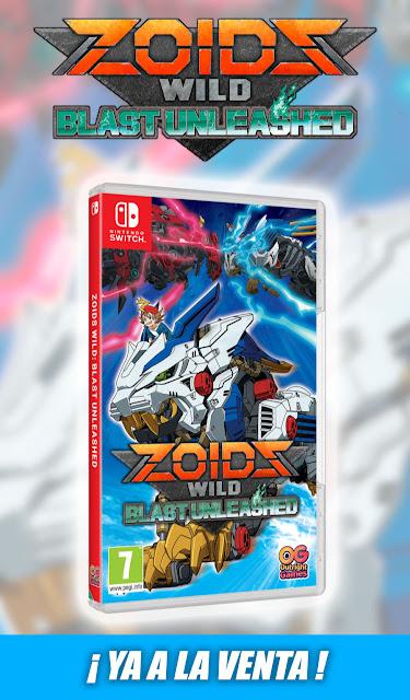 ZOIDS Wild: Blast Unleashed ya a la venta.