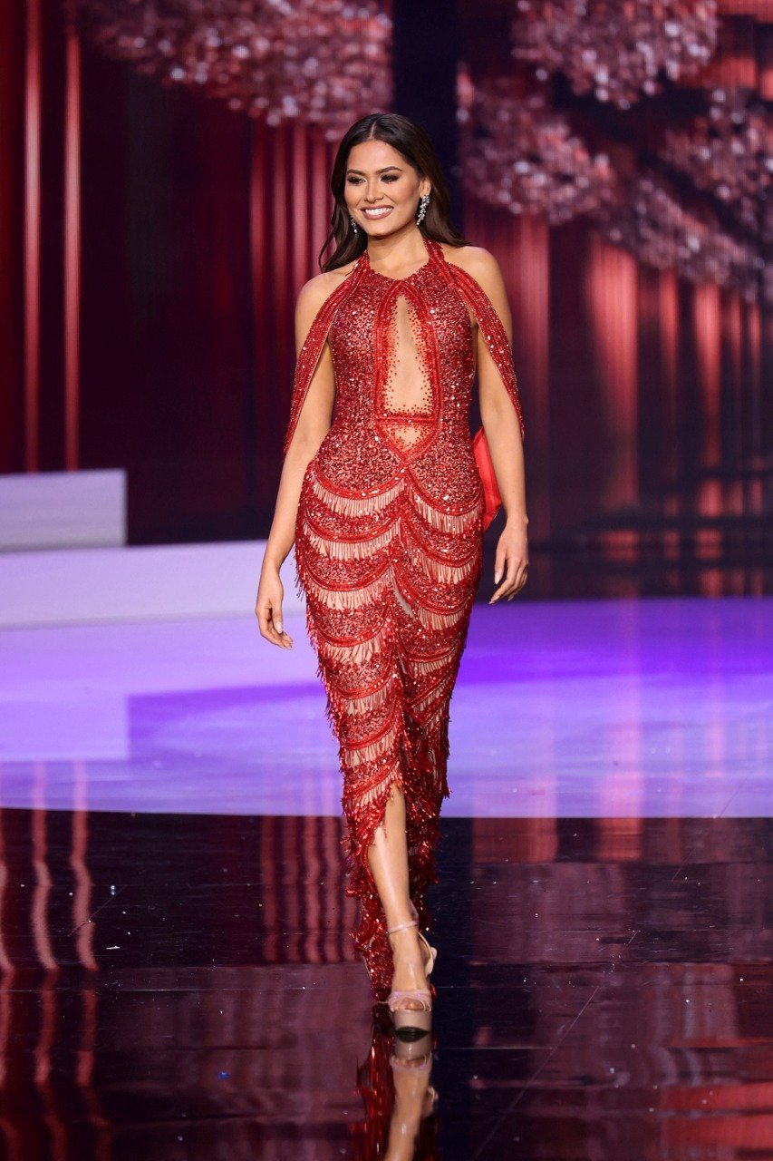 Andrea Meza, a mexican activist who has been working on women's rights and the eradication of gender violence, won Miss Universe 2021