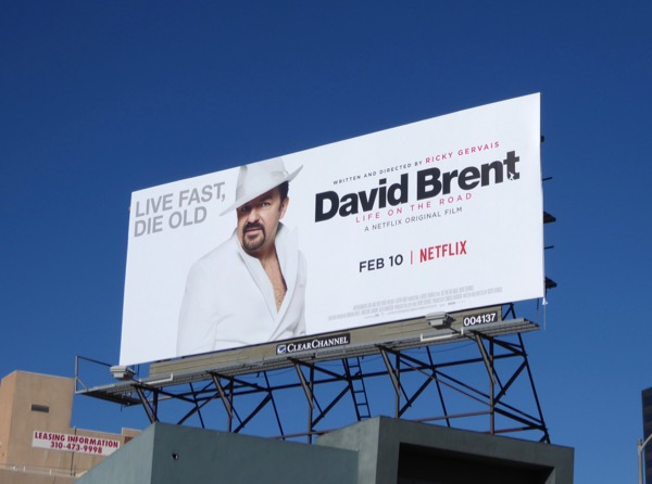 David Brent Life on the Road film billboard