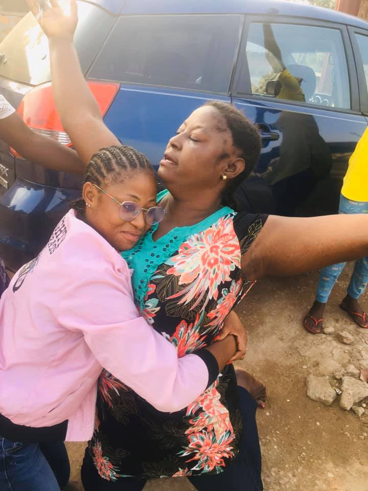 Woman Breaks Down In Tears As Her Daughter Surprises Her With A Car in Benue state #hypebenue