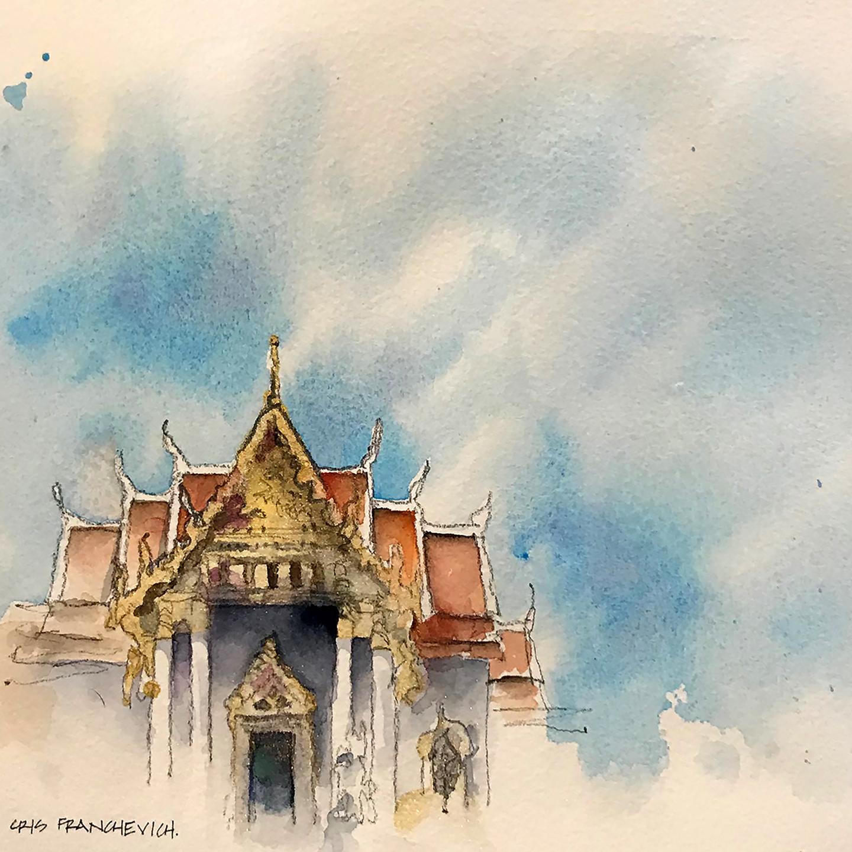 Watercolor Workshop: Bangkok | Urban Sketchers