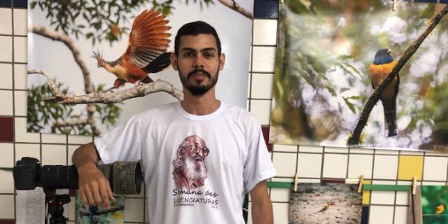 Fotógrafo chavalense realiza exposição de fotografia de aves em Uruçuí-PI