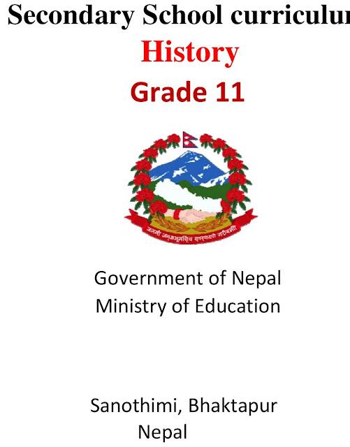 Grade XI NEB Syllabus - History