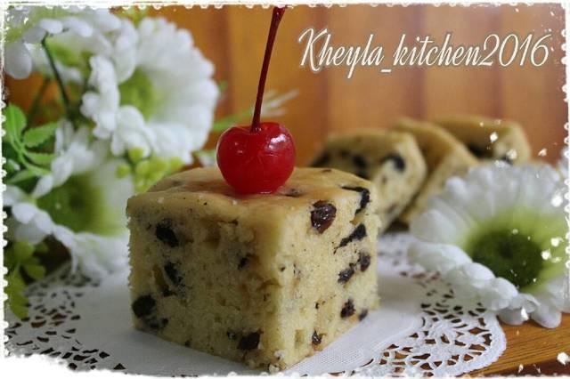 Resep Cake Tanpa Telur Jtt: Cake Tape Kukus Tanpa Telur. Tanpa Mixer. Tanpa Oven