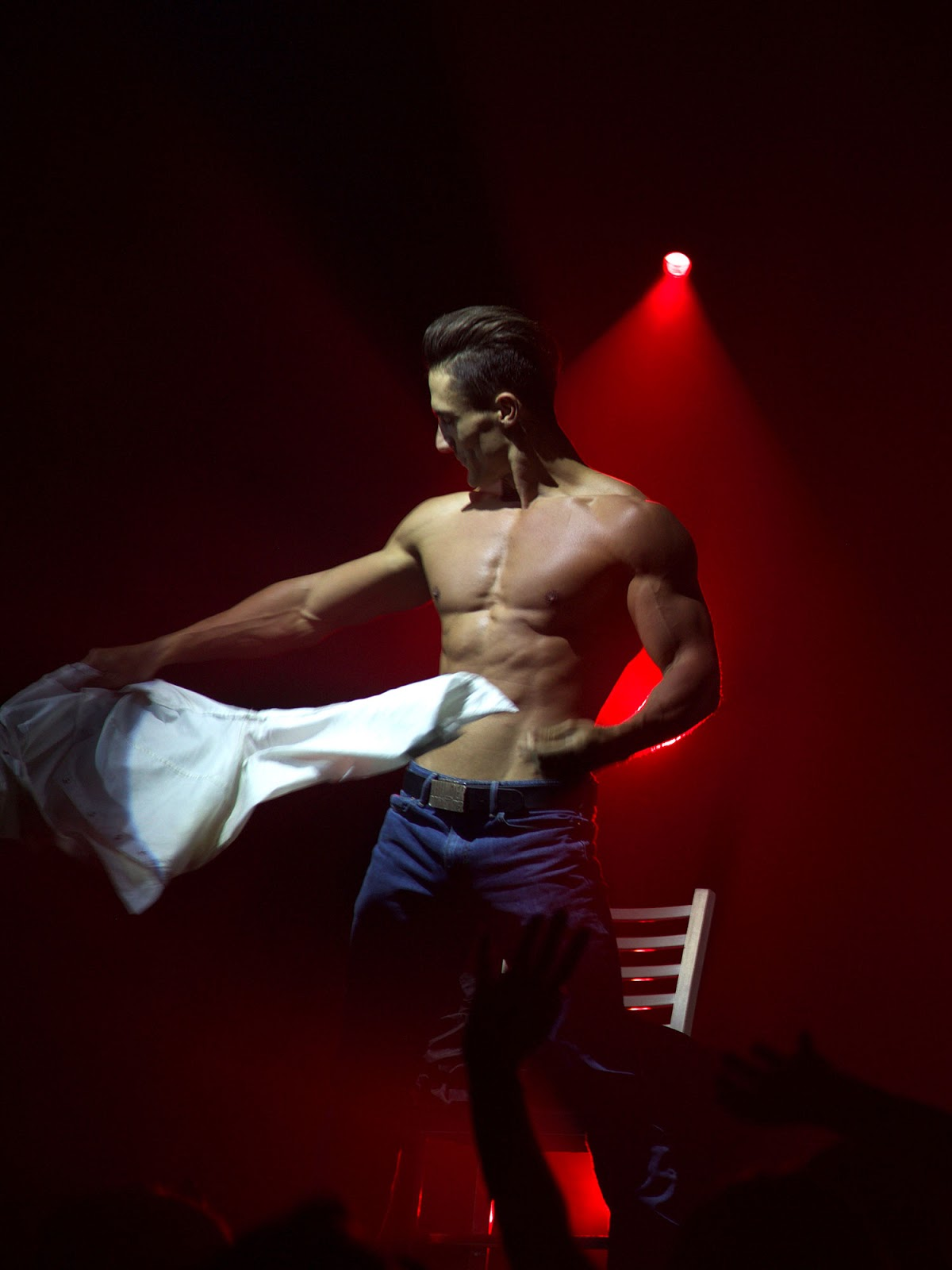 Thunder From Down Under - Beau, male revue