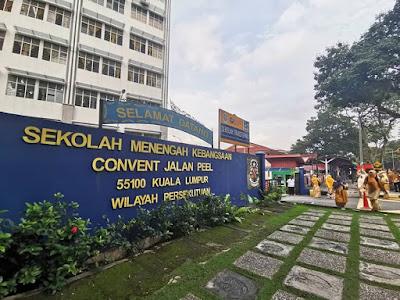 Pengembaraan ke SMK Convent Jalan Peel, KL : BEST!