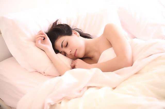 النوم المبكر والجمال
