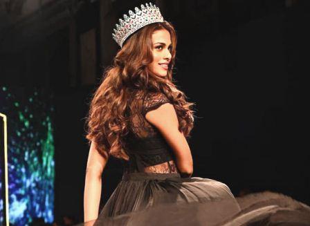 Adeline Quadros Castelino 22 Years Old Beautiful Woman Representing India