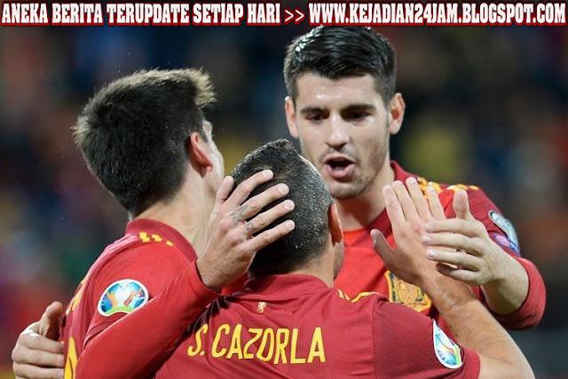 Spanyol Bantai Malta Dengan Skor Telak 7 - 0