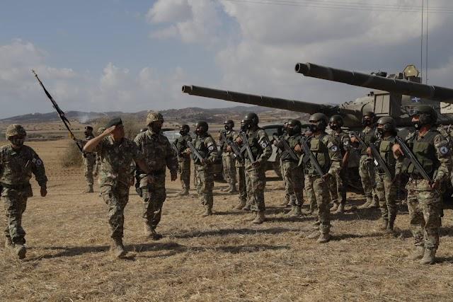 Κύπρος: Εντυπωσιακές ΦΩΤΟ και ΒΙΝΤΕΟ από την Εθνική Διακλαδική ΤΑΜΣ «ΙΡΙΣ 2021» της Εθνικής Φρουράς